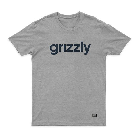 CAMISETA GRIZZLY LOWERCASE LOGO - Matriz Skate Shop