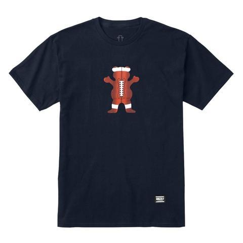 CAMISETA GRIZZLY SPORT PACK BEAR FOOTBALL - Matriz Skate Shop