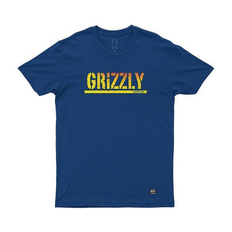 CAMISETA GRIZZLY STAMP FADEWAY - Matriz Skate Shop