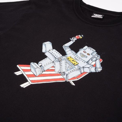 CAMISETA HIGH ROBOT - Matriz Skate Shop