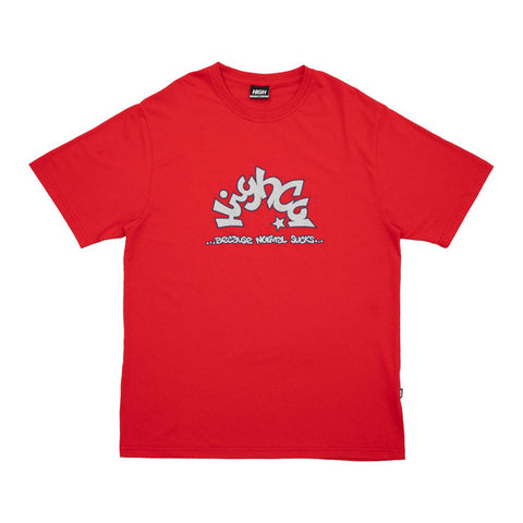 CAMISETA HIGH STAR RED - Matriz Skate Shop