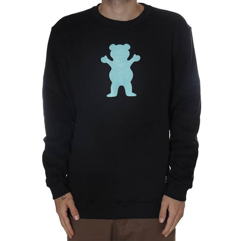 MOLETOM GRIZZLY OG BEAR CREWNECK | I21GRG01 - Matriz Skate Shop