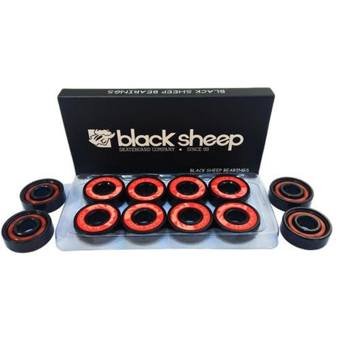ROLAMENTO BLACK SHEEP - PRETO - Matriz Skate Shop