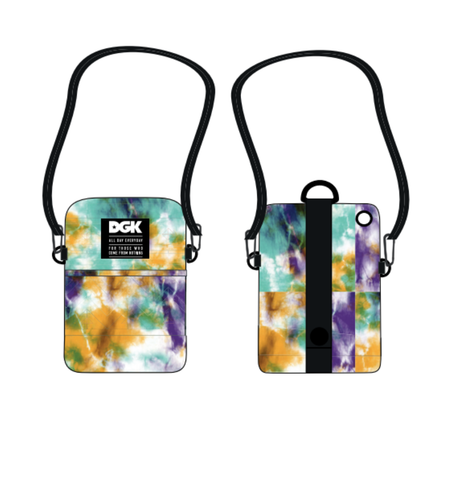 SHOULDER BAG DGK PSYCHEDELIC | I21DGA16 - Matriz Skate Shop