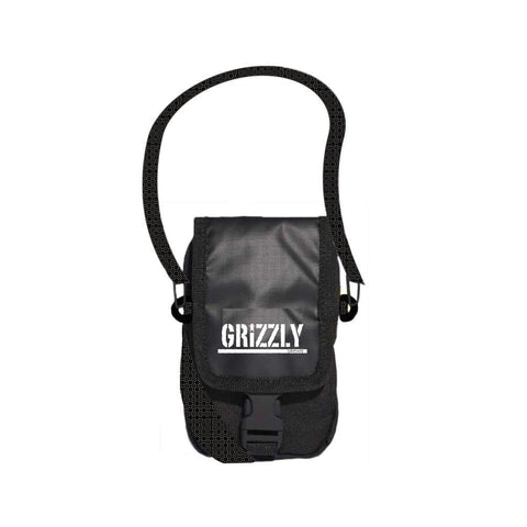 SHOULDER BAG GRIZZLY STAMP | I21GRA02 - Matriz Skate Shop