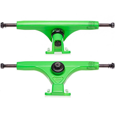 TRUCK LONG HONDAR 185MM - VERDE CLARO - Matriz Skate Shop