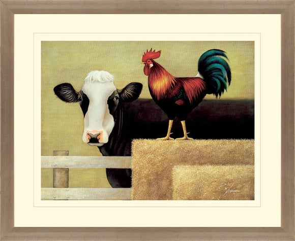 Barnyard Cow By Lowell Herrero - Mail Order Art