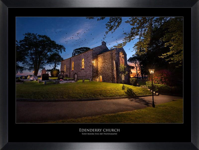 Edenderry Church (Medium) By Tony Moore - Mail Order Art