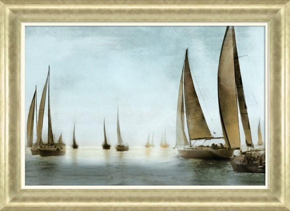 Golden Sails II By Fontaine Drako