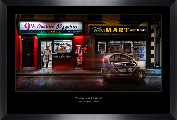 9th Avenue Pizzeria (Large) By Tony Moore - Mail Order Art