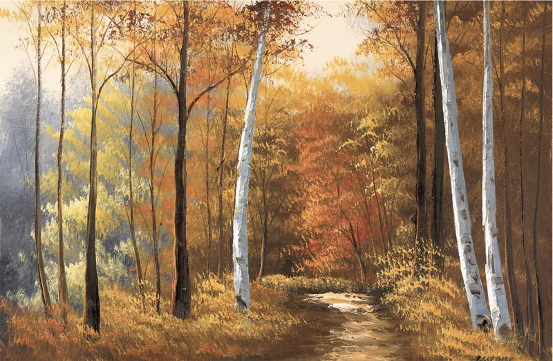 Autumn Lane By Spires Studio - Mail Order Art