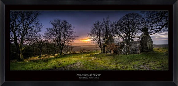 Baronscourt Sunset (Small) By Tony Moore - Mail Order Art