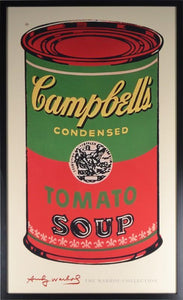 Campbell's Soup Can (Green & Red) By Andy Warhol - Mail Order Art