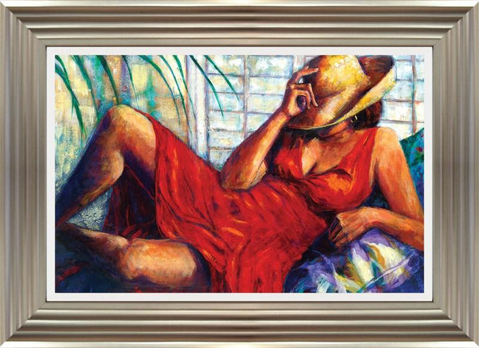 Chilling By Monica Stewart - Mail Order Art