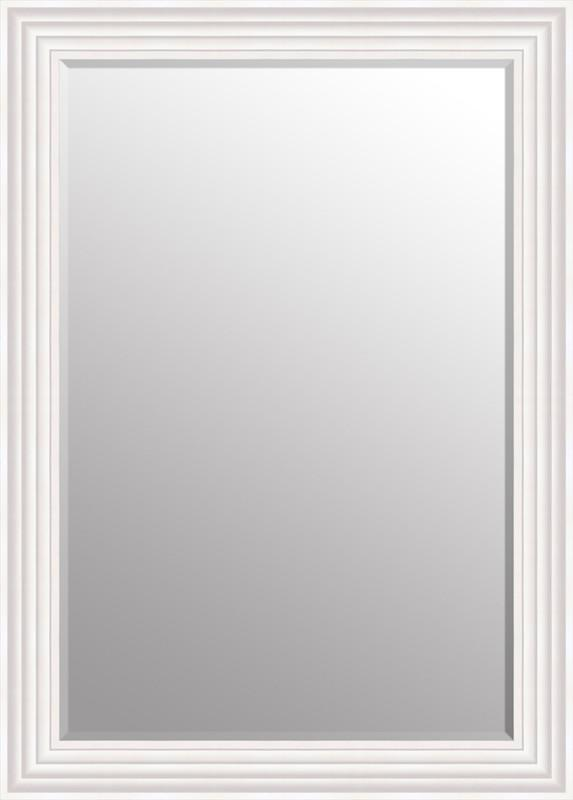 "Hexham White Mirror (43"" x 31"")"