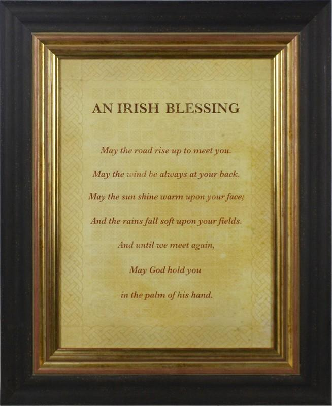 An Irish Blessing By The Inspirational Collection - Mail Order Art