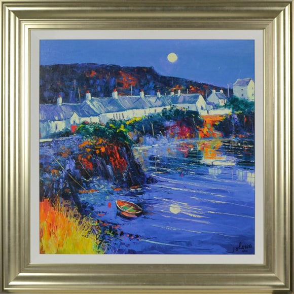 An Ellenabeich Gloaming By John Lowrie Morrison - Mail Order Art