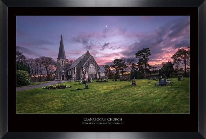 Clanabogan Church (Medium) By Tony Moore - Mail Order Art
