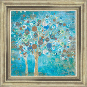 A Teal Tree By Tava Studios - Mail Order Art