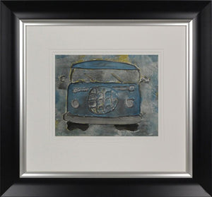 Classic VW Blue By Dennis Middleton - Mail Order Art
