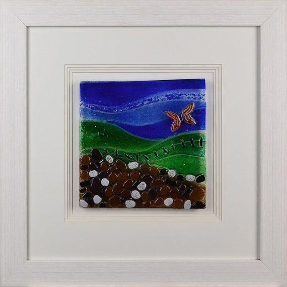 Butterfly In A Landscape By Spires Studio - Mail Order Art