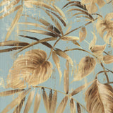 Gold Palms II By Asia Jensen