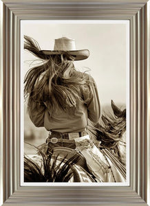 Cowgirl By Lisa Dearing - Mail Order Art