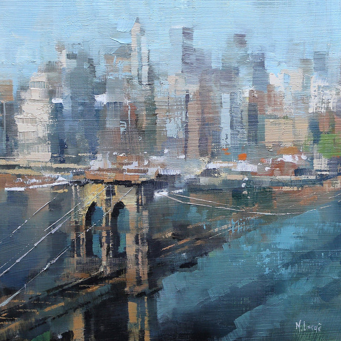 Brooklyn Bridge By Mark Lague - Mail Order Art