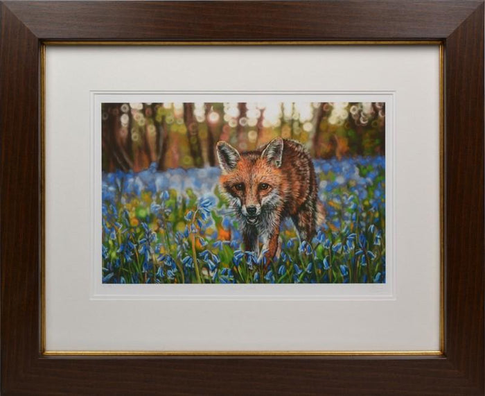 Bluebell Foxtrot By Emma Colbert - Mail Order Art