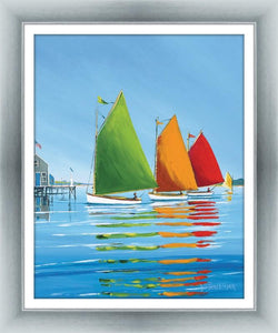 Cape Cod Sail By Sally Caldwell Fisher - Mail Order Art