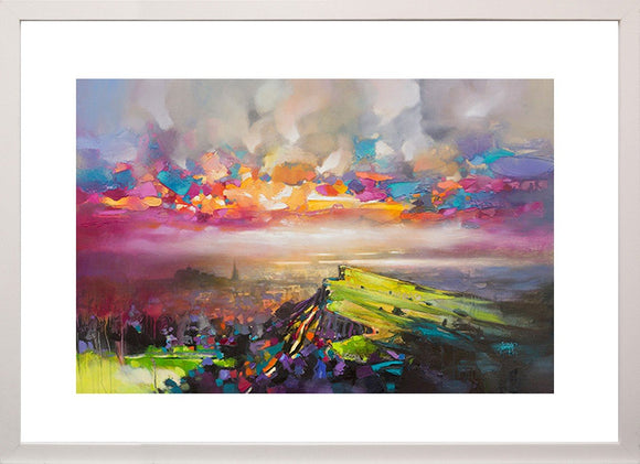 Edinburgh Sky By Scott Naismith - Mail Order Art