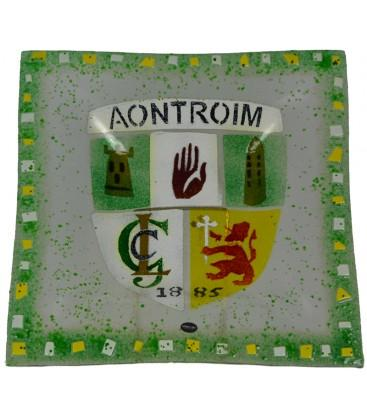 Antrim (Aontroim) GAA Bowl By Spires Studio - Mail Order Art