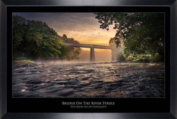 Bridge On The River Strule (Medium) By Tony Moore - Mail Order Art