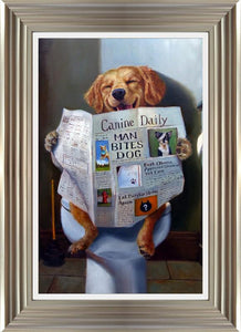 Dog Gone Funny By Lucia Heffernan - Mail Order Art