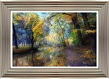 Autumn Walk By John Rivera - Mail Order Art