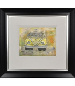 Classic VW Yellow I By Dennis Middleton - Mail Order Art
