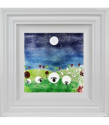 Counting Sheep By Spires Studio - Mail Order Art