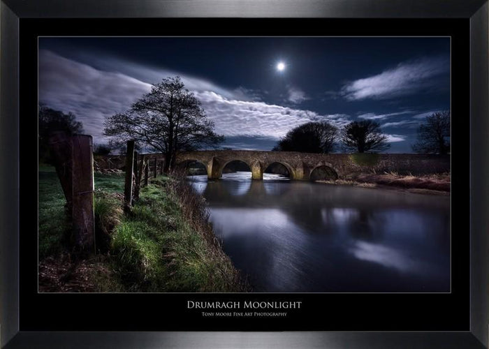 Drumragh Moonlight (Medium) By Tony Moore - Mail Order Art