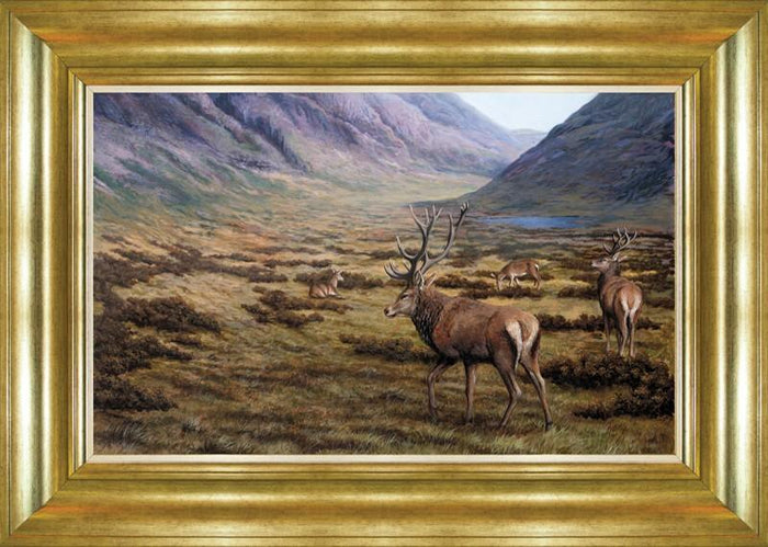 Deer Family (Small) By Spires Studio - Mail Order Art