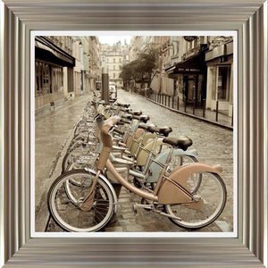 City Street Ride By Alan Blaustein - Mail Order Art