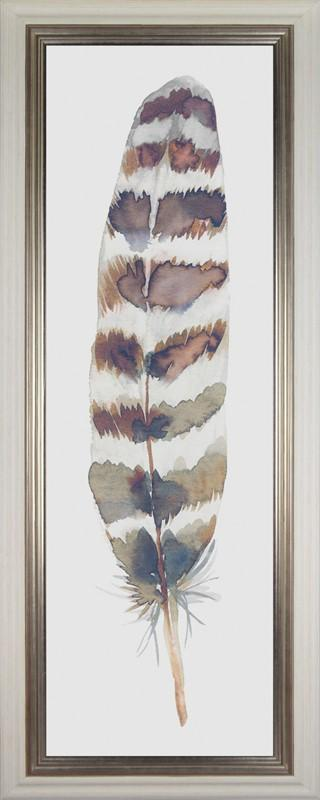Feather Drift I By Sandra Jacobs - Mail Order Art