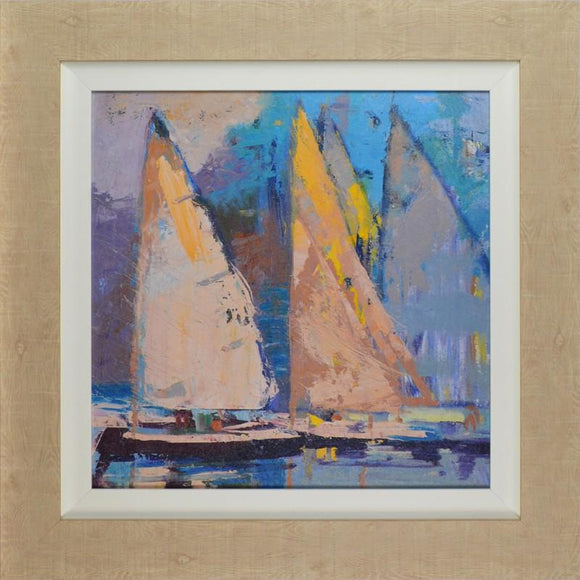 Breeze, Sail and Sky By Beth A. Forst - Mail Order Art