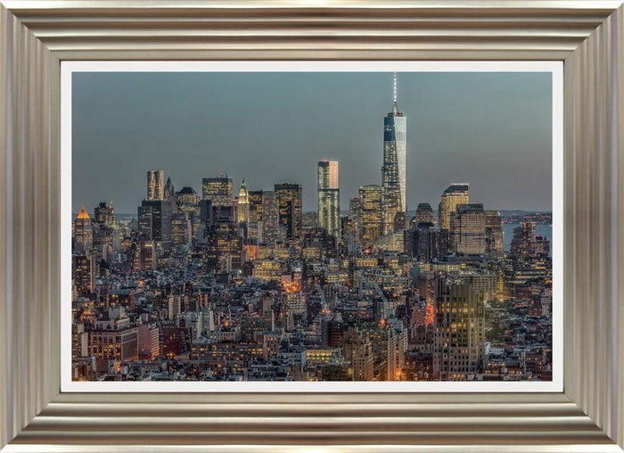 Downtown Skyline 12 By Richard Silver - Mail Order Art
