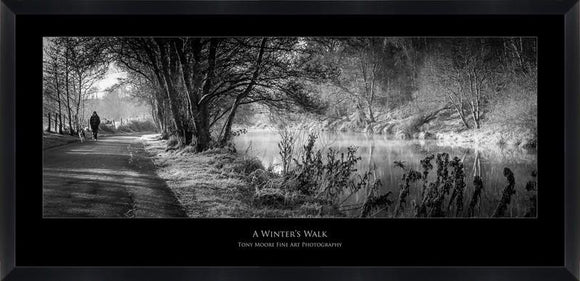 A Winters Walk (Lovers Retreat) (Medium) By Tony Moore - Mail Order Art