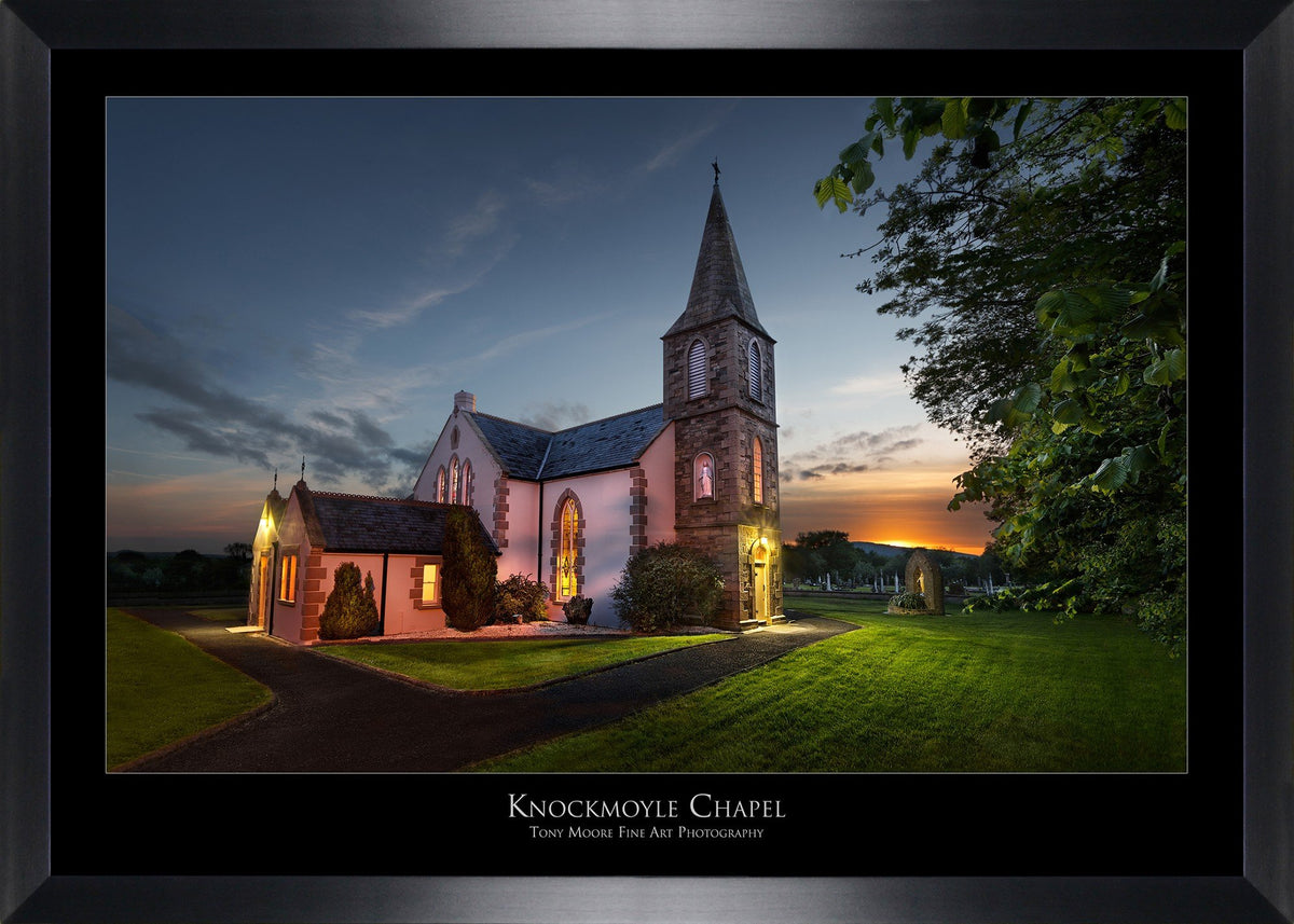 Knockmoyle Church (Medium) By Tony Moore