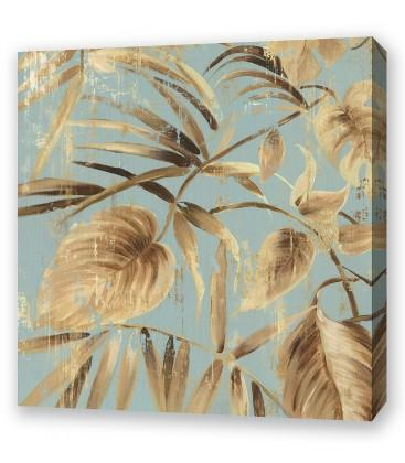 Gold Palms II By Asia Jensen - The Crosshill Gallery