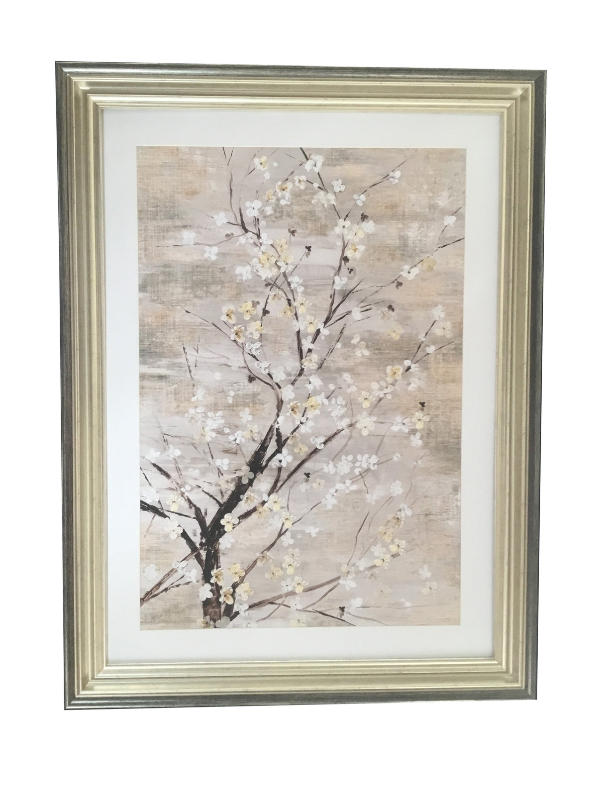 Silver Apple Blooms- M8675S8 - The Crosshill Gallery