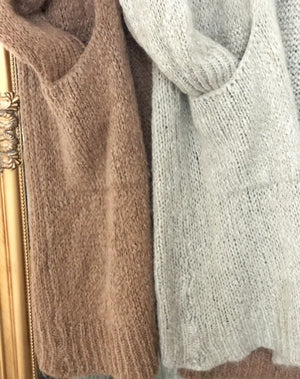 Claire Long Cardigan