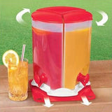 3 Compartment Drink Dispenser
