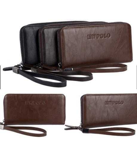 POLO Premium Long Zip Wallet